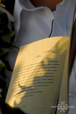 Sedona Bridal Show wedding vows